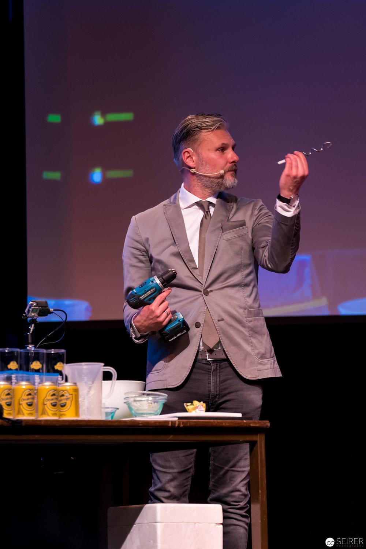 Dr. Florian Freistetter und seine geliebte Makita