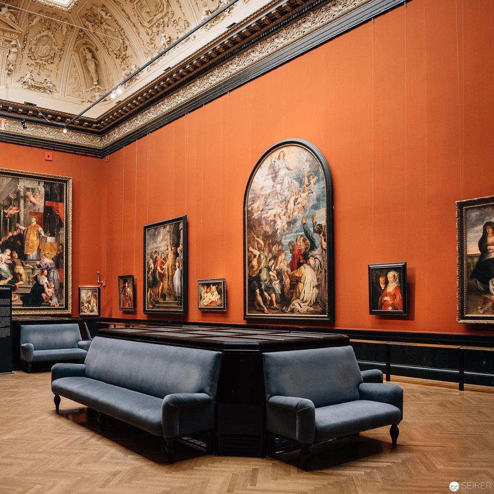 Rubens Saal im Kunsthistorischen Museum Wien