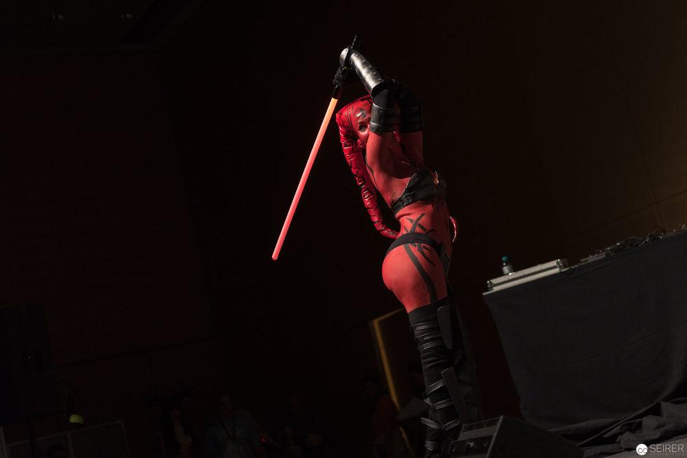Narga from Star Wars Legacy / Armor Cosplay: Narga-chan cosplay