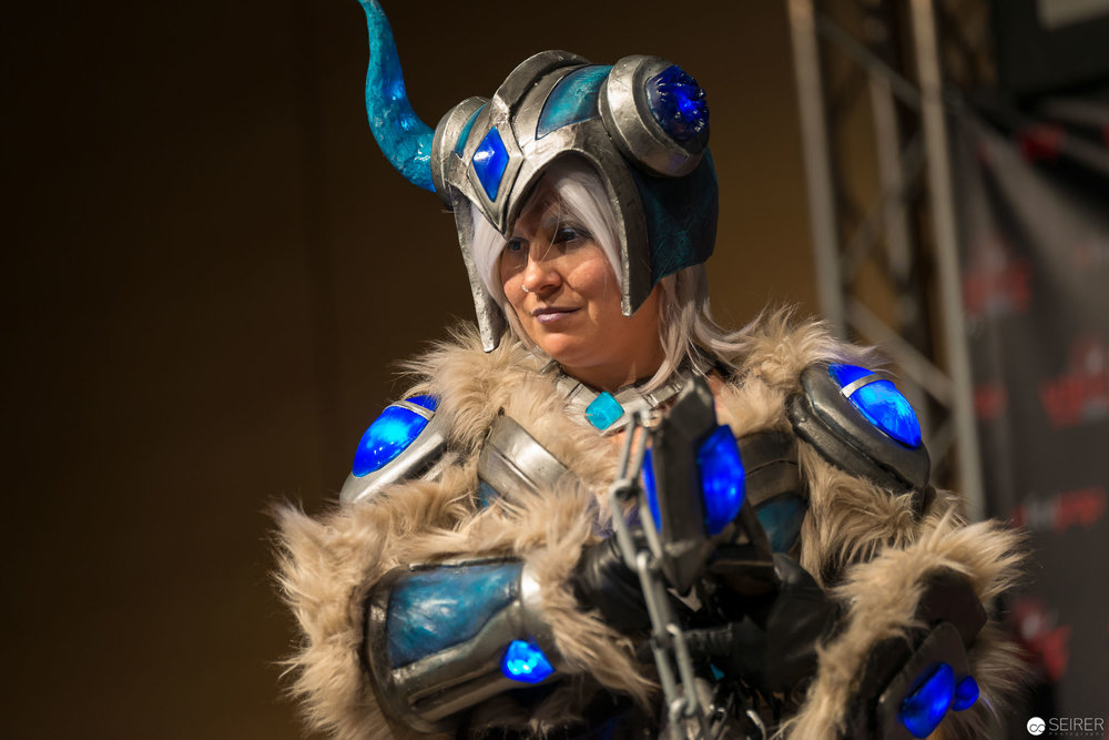 Sejuani from League of Legends / Armor Cosplay: MonSoon Cosplay