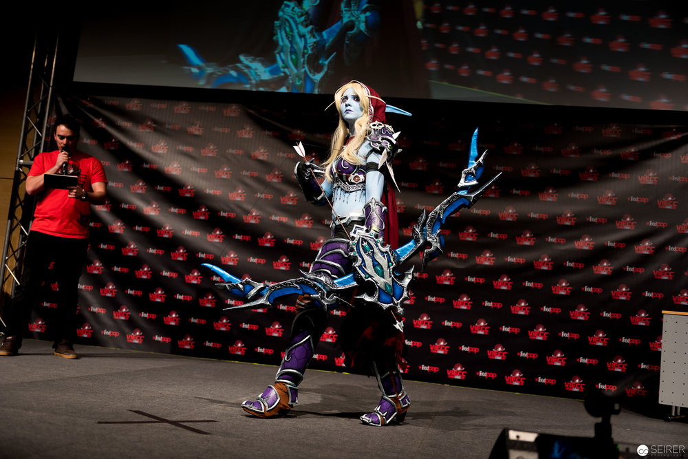 Sylvanas Windrunner from World of Warcraft / Armor Cosplay: Bloody Baroness Cosplay