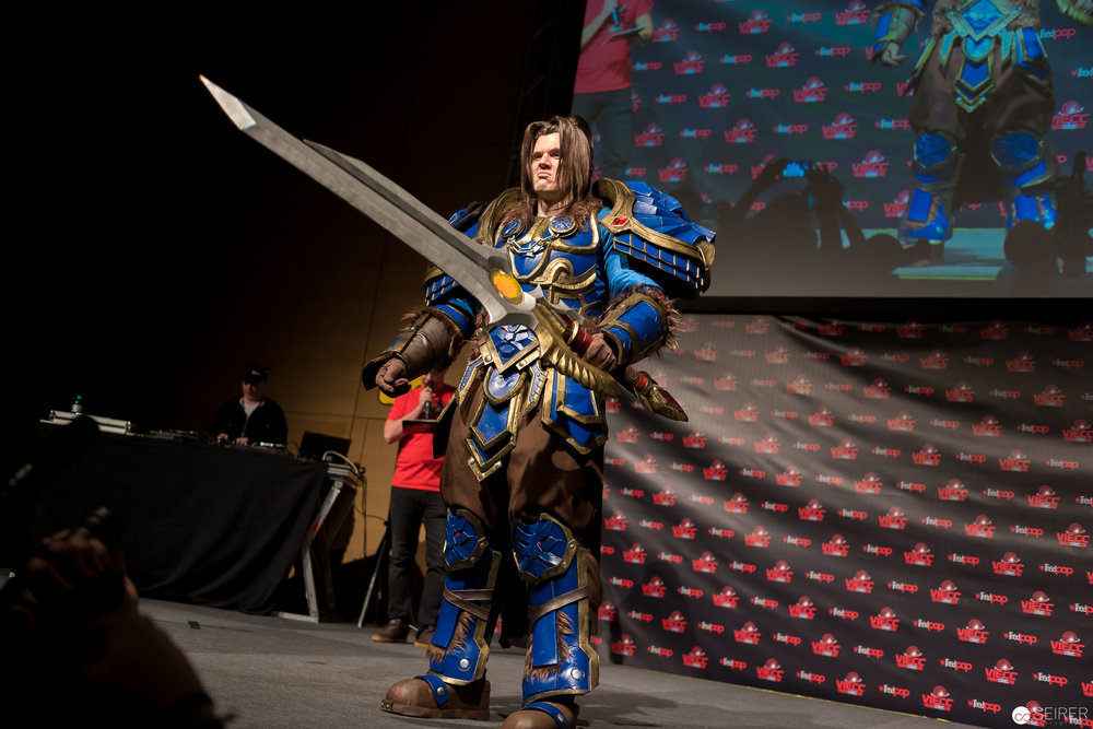 Varian Wrynn from World of Warcraft / Armor Cosplay: Eye of Sauron Designs
