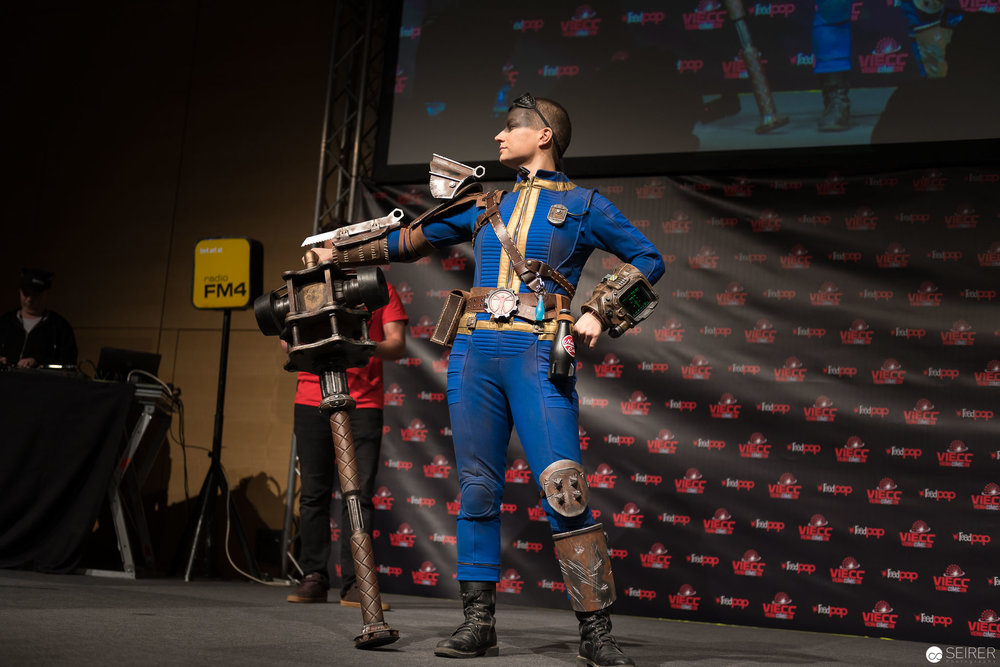 Sole Survivor from Fallout 4 / Needlework Cosplay: Brazen & Bold Productions