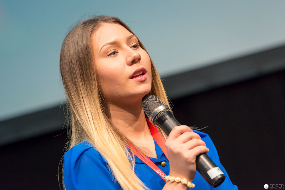 Celina Blogsta @ VideoCon 2016