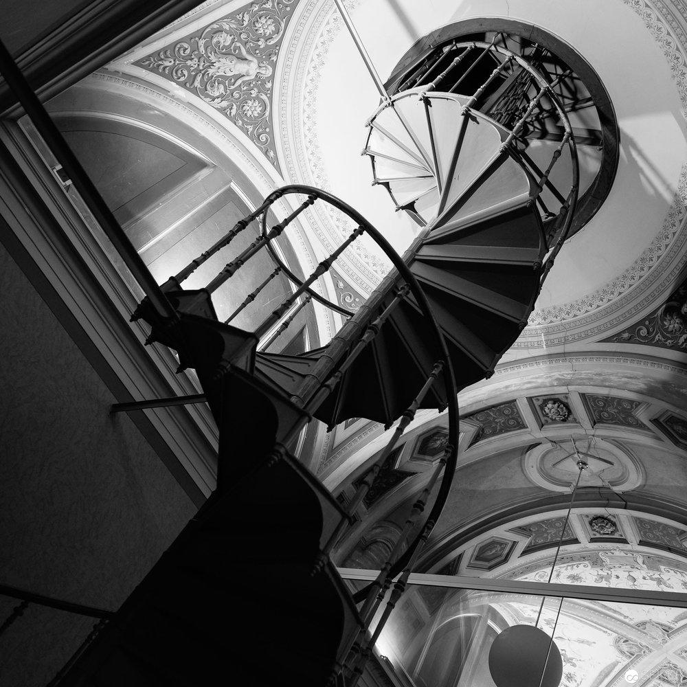 Stiege im Kunsthistorischen Museum Wien (KHM)