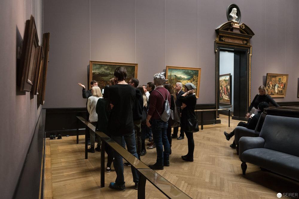 """Bruegel Saal - Besprechung von """"Die Jäger im Schnee"""""""