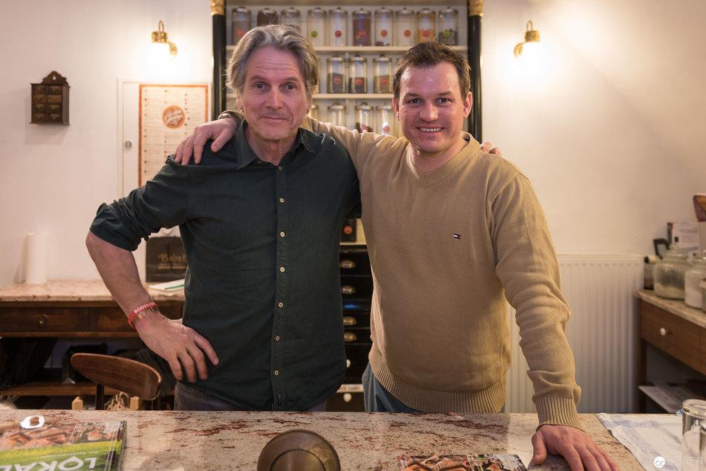 Georg Schweisfurth und Simon Tress