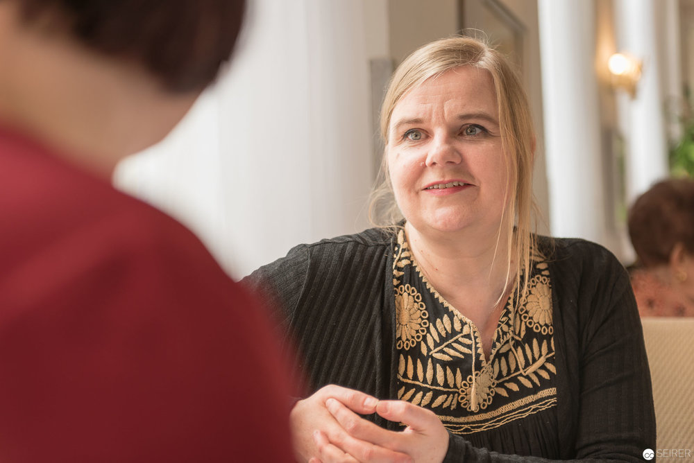 Britta Teckentrup im Interview mit Janett Cernohuby