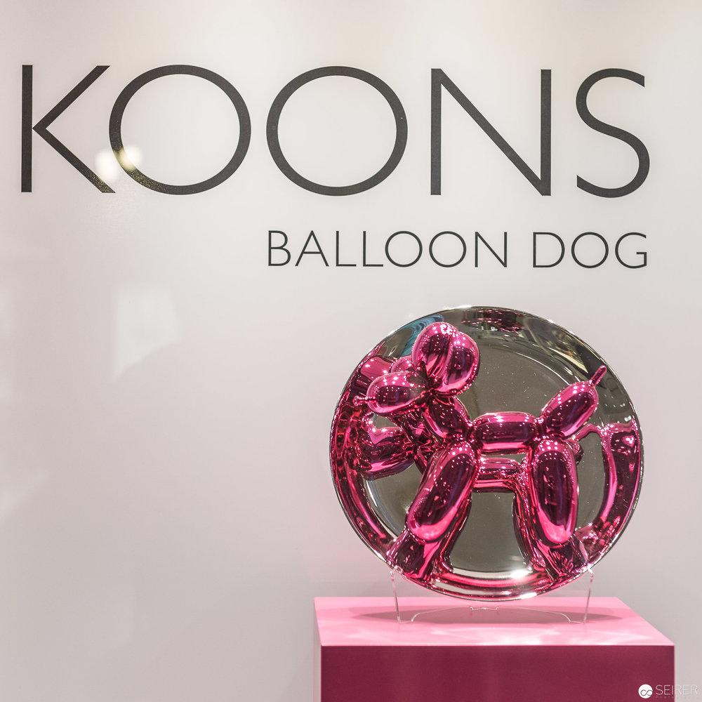 Jeff Koons im Dorotheum Wien