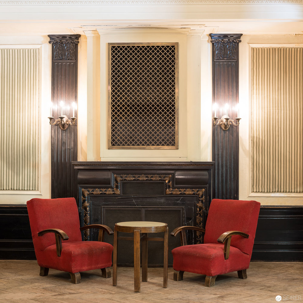 Lounge im Südbahnhotel am Semmering