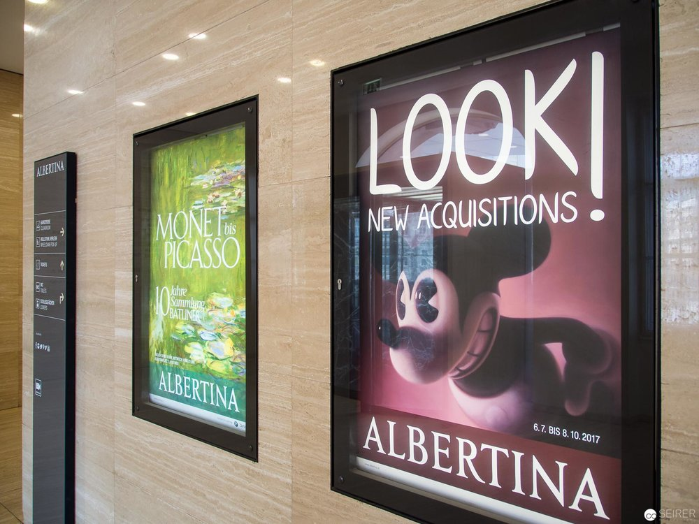 """LOOK! New Acquisitions"" Ausstellung der Albertina Wien"