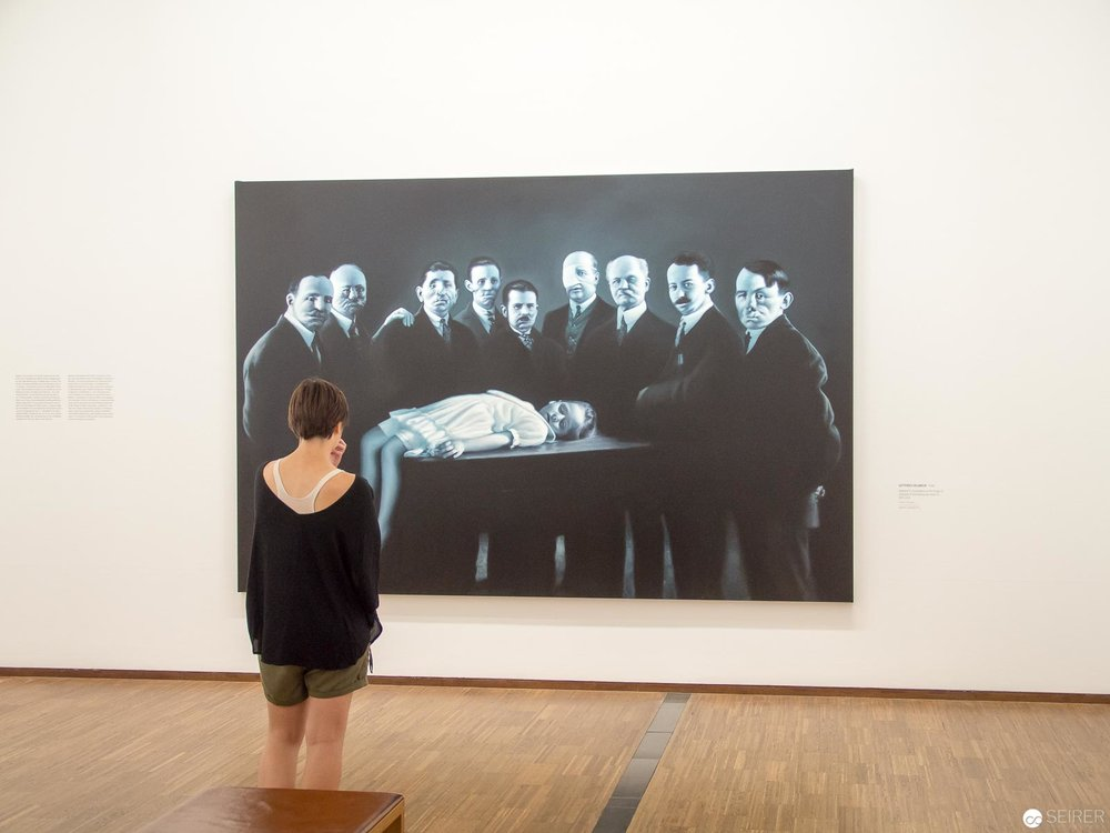 "Gottfried Helnwein - ""LOOK! New Acquisitions"" Albertina Wien"