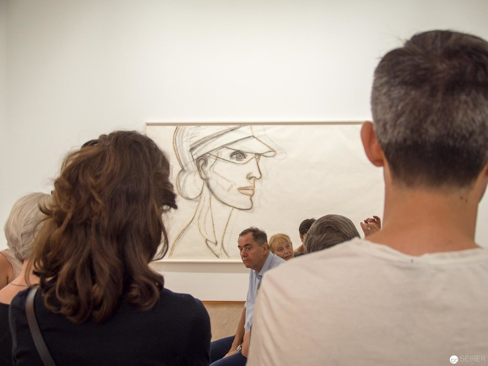 "Alex Katz - ""LOOK! New Acquisitions"" Albertina Wien"