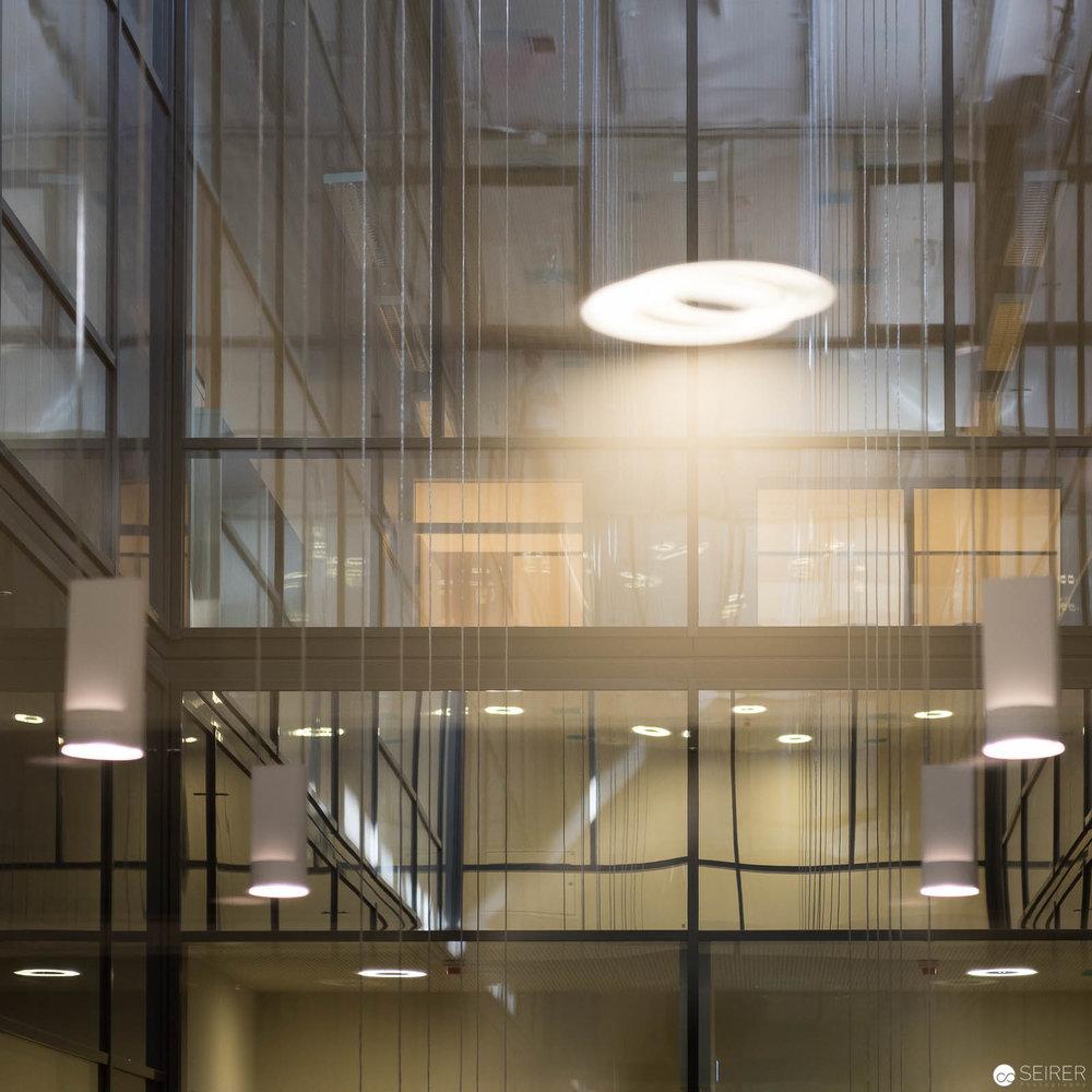 Innenbereich mit Tageslicht im Krankenhaus Nord