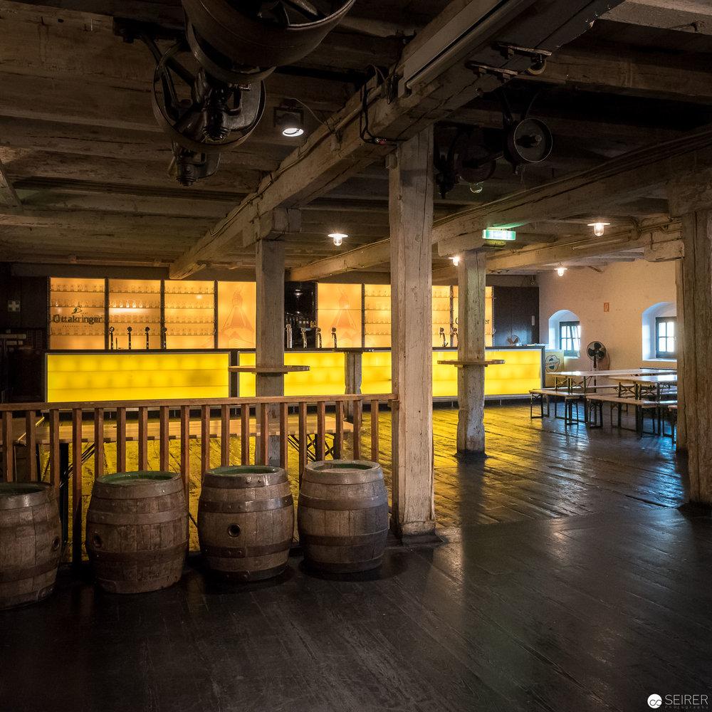 Gerstenboden in der Ottakringer Brauerei
