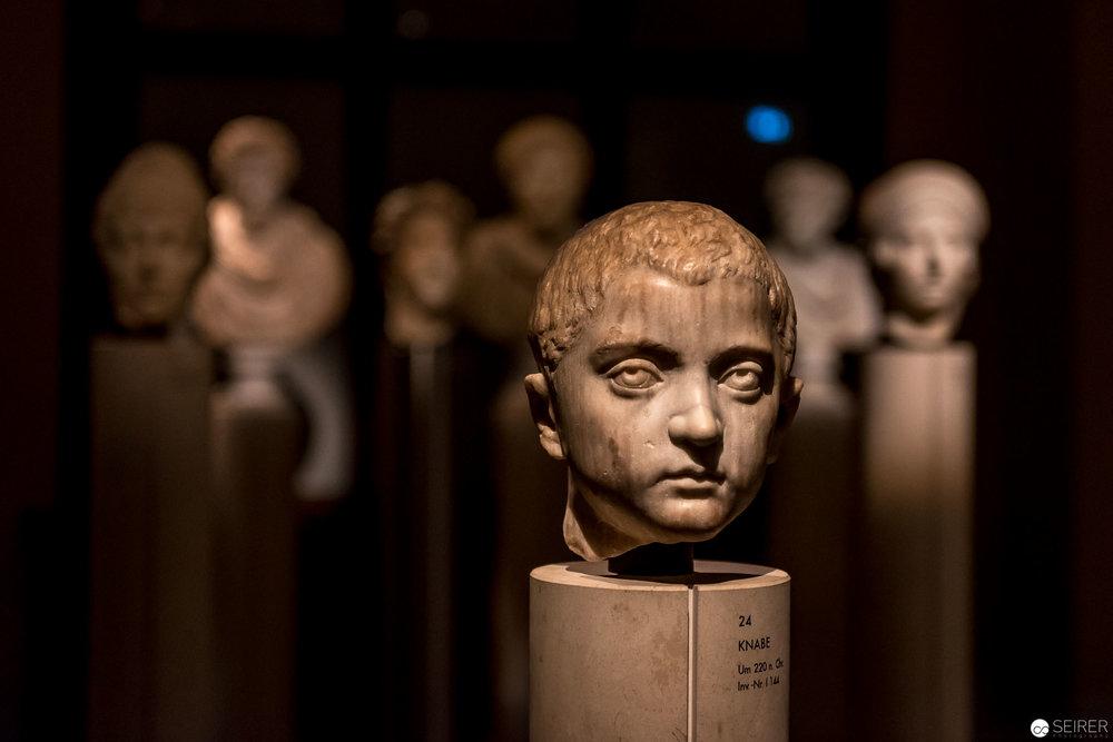 Knabe um 220 n.Chr - Kunsthistorisches Museum Wien
