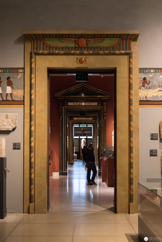 Türen im Kunsthistorischen Museum Wien
