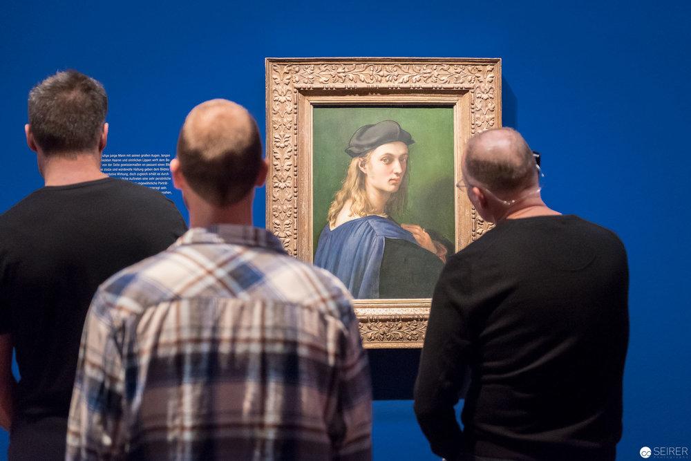 Raffael: Portrait von Bindo Altoviti, ca. 1514–1515