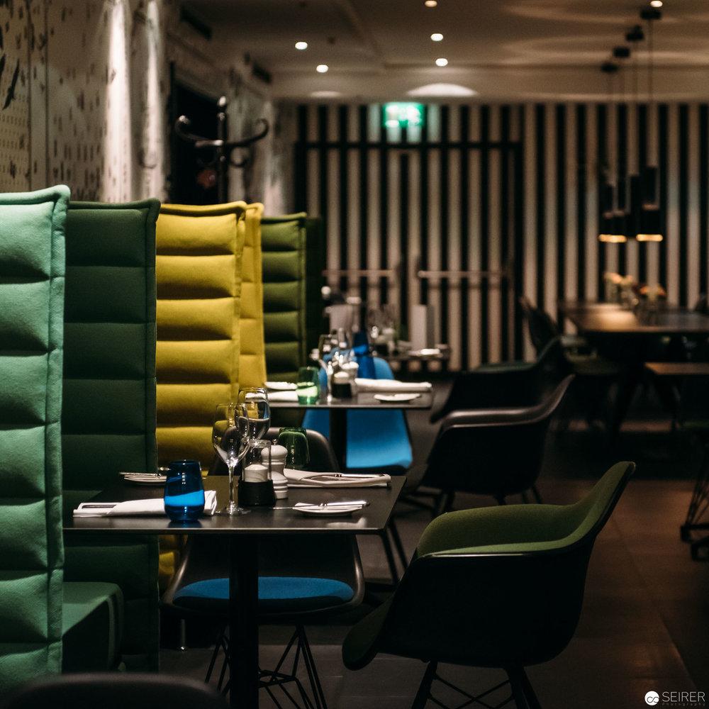 Das Restaurant Parlor im InterContinental Hotel Wien