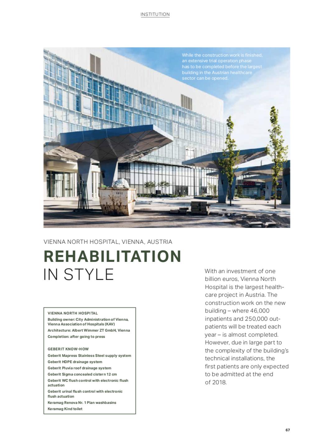 Screenshot der Online-Ausgabe des Magazins