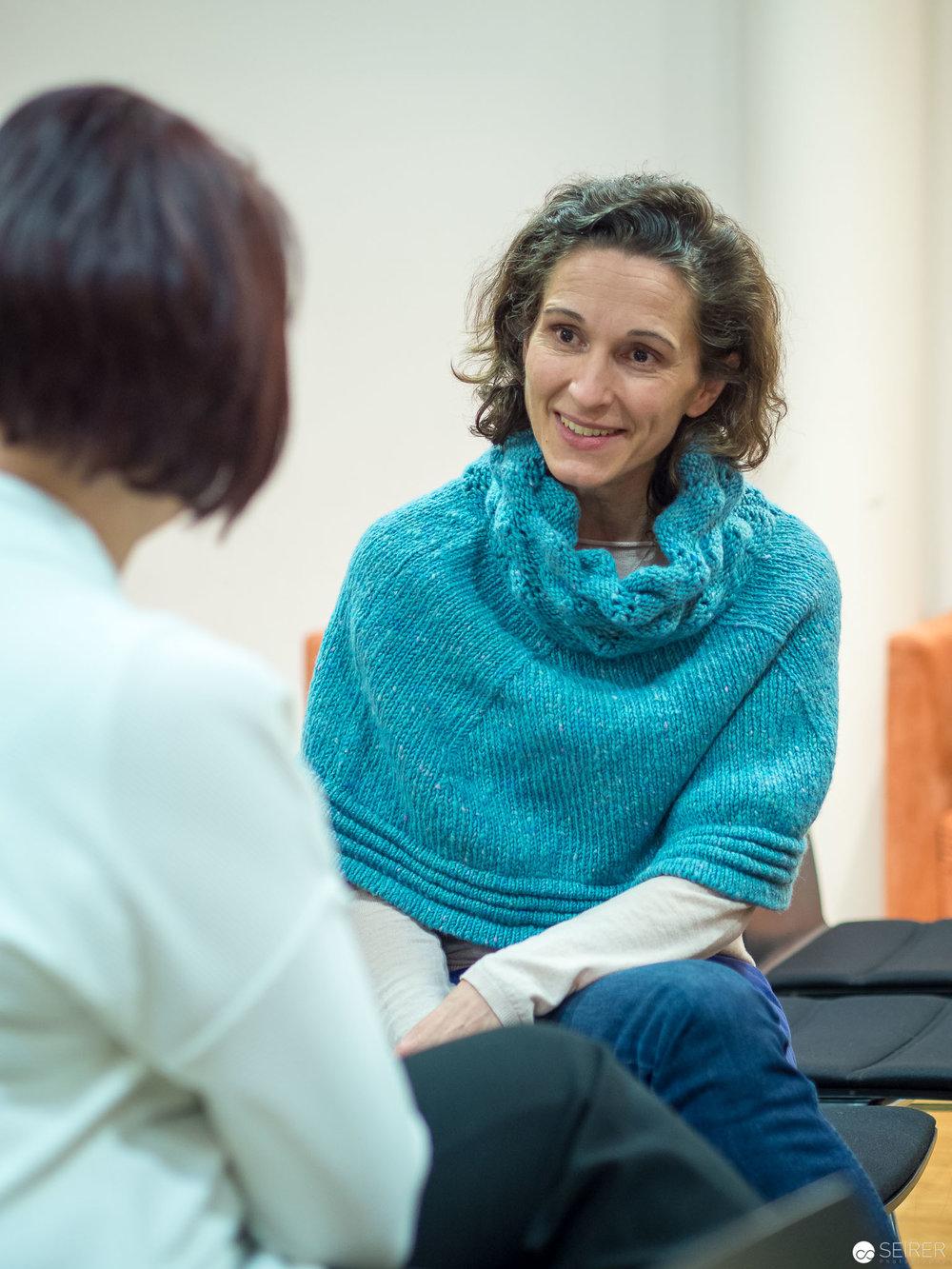 Janett Cernohuby im Interview mit Melanie Laibl