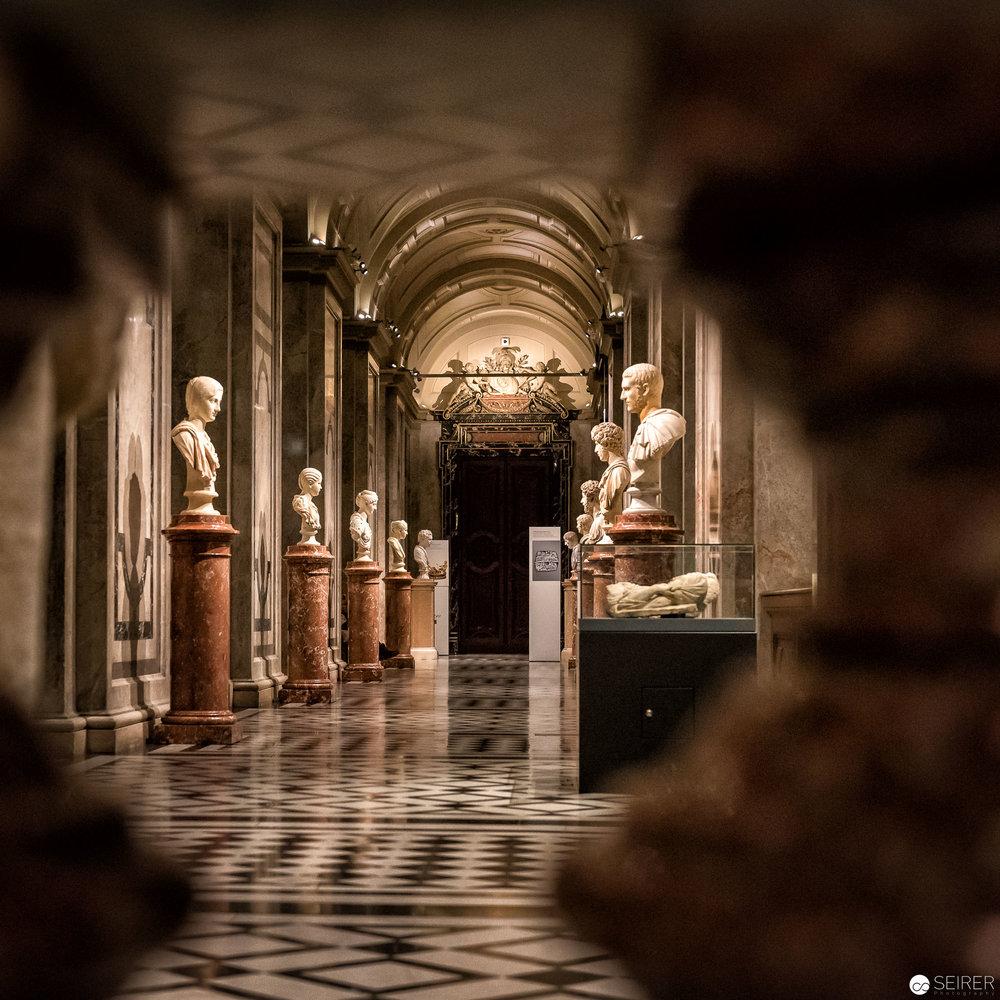 Beim Kunstschatzi kann man die Gemäldegalerie, die Antike und die Ägyptisch-Orientalische Sammlung besuchen