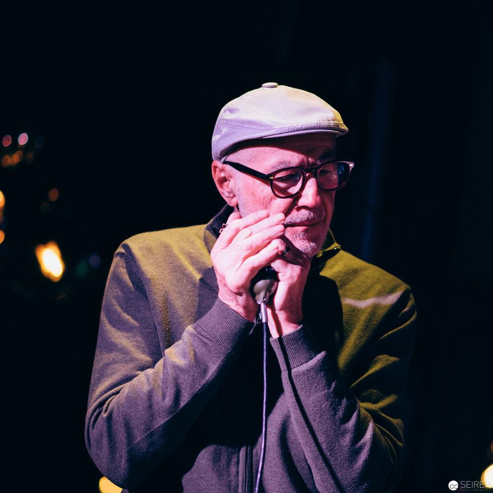 Willi Resetarits aka Ostbahn Kurti bei den Sunday Sounds im le Meridien