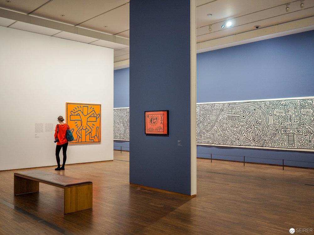 Keith Haring Ausstellung in der Albertina