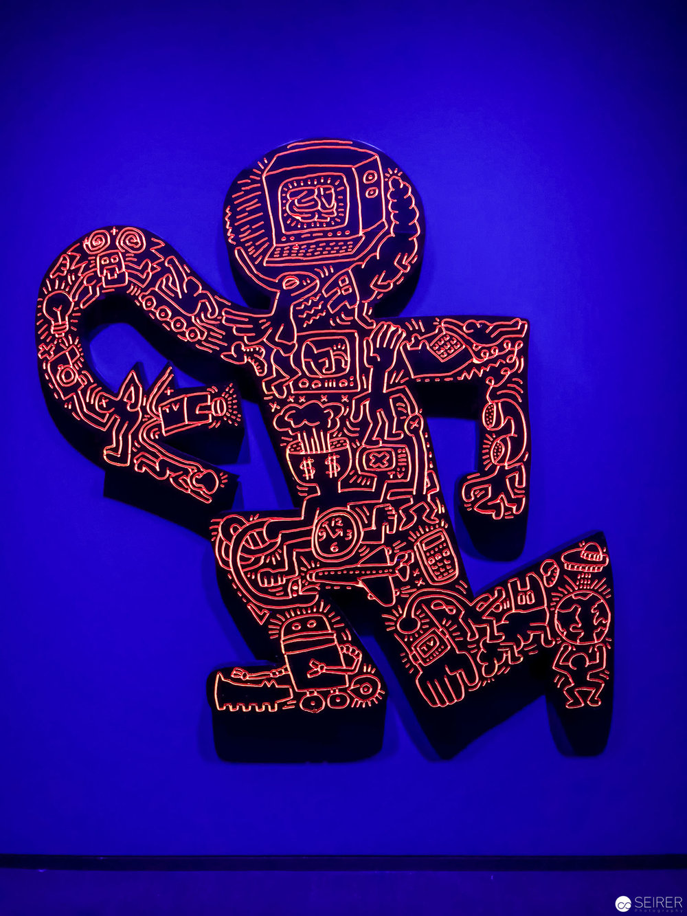 Keith Haring. The Alphabet exhibition at Albertina