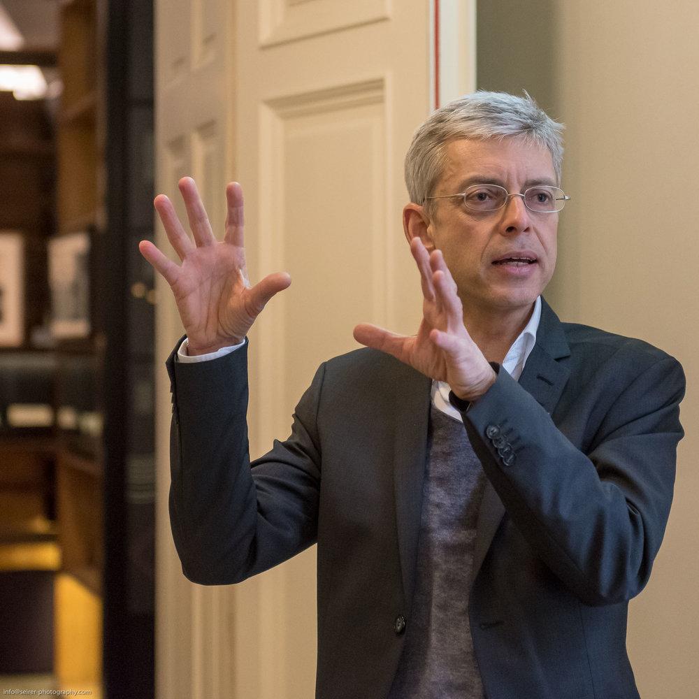 Museumsdirektor Dr. Bernhard Fetz des Literaturmuseums
