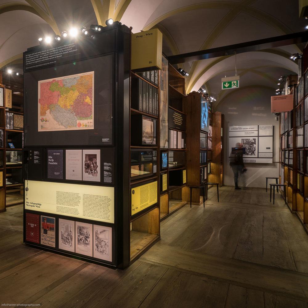 Dauerausstellung Literaturmuseum Wien