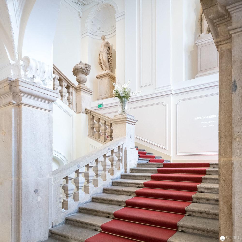 Stiegenaufgang/Eingang