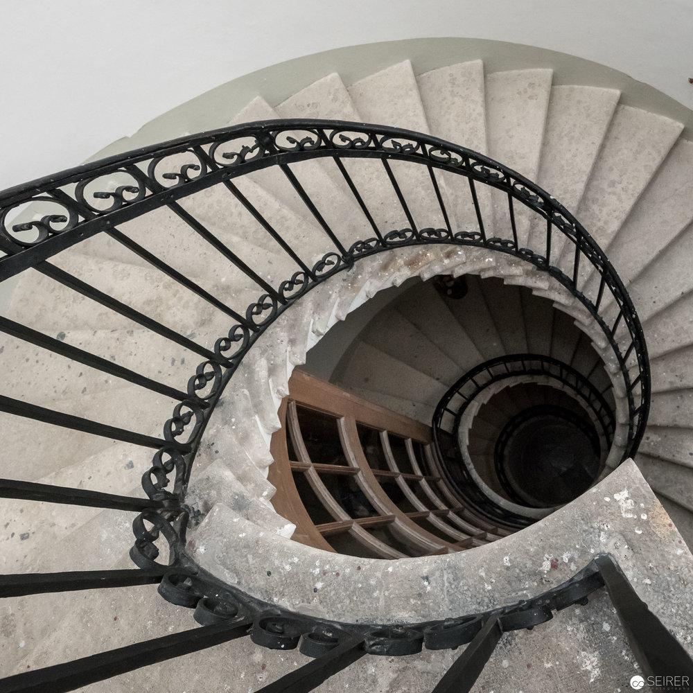 Treppe in Schloss Eckartsau