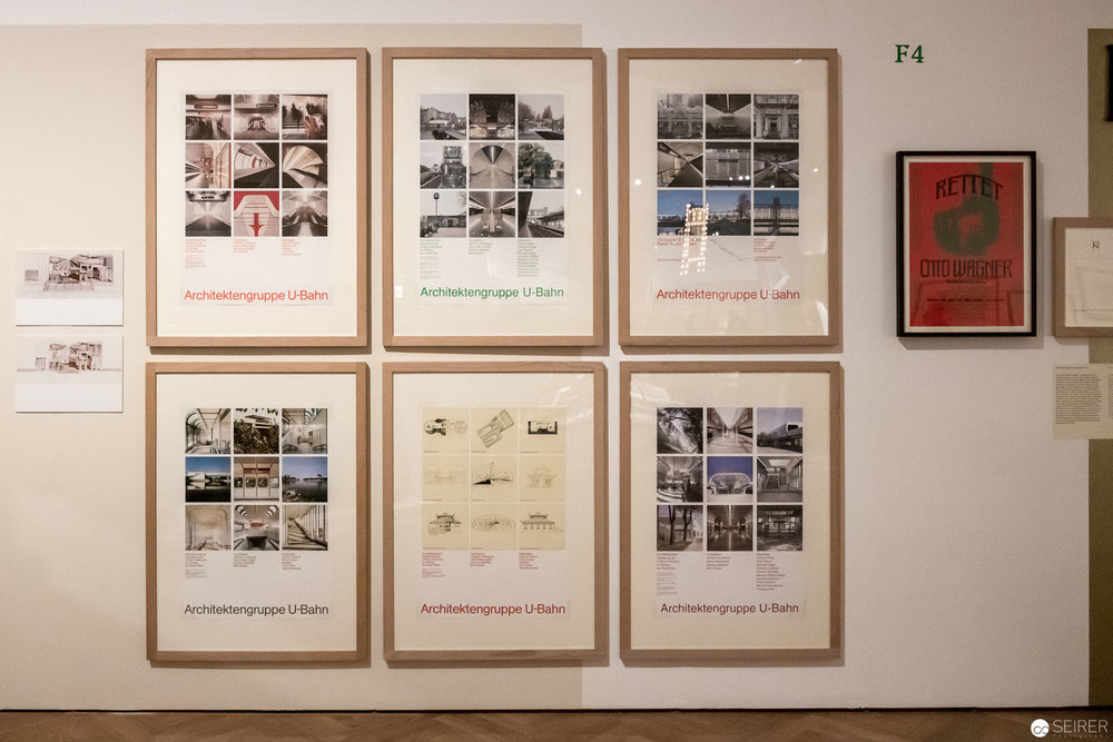 """Ausstellungsansicht """"Post Otto Wagner"""" im MAK Wien"""