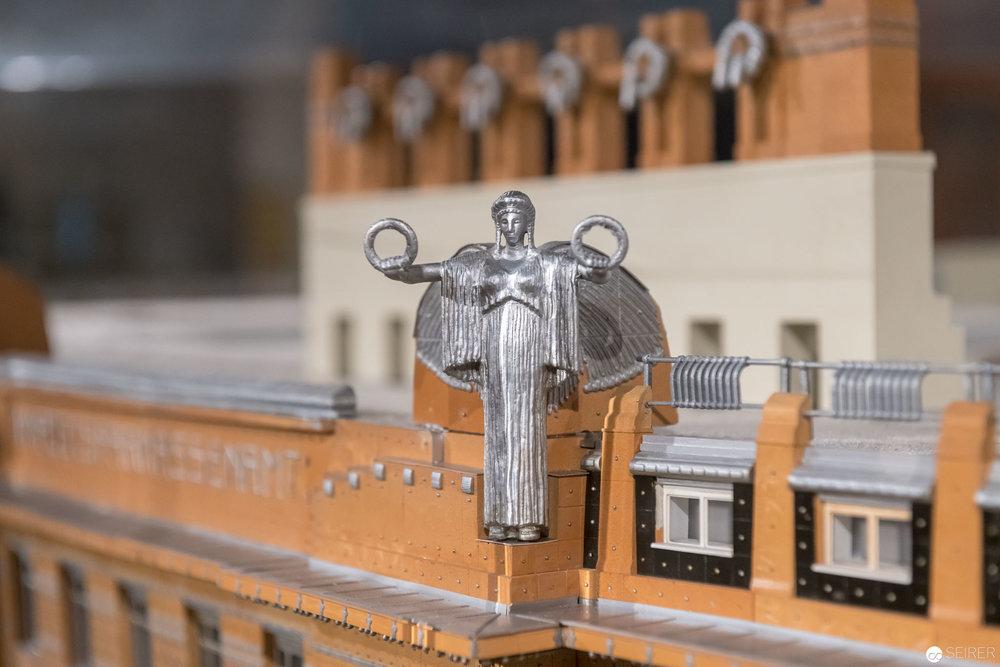 "Modelldetail Postsparkasse, ""Post Otto Wagner"" im MAK Wien"