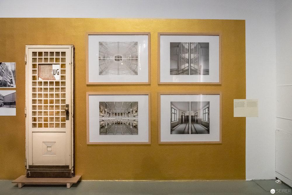 """""""Splittings"""" Serie der Postsparkasse von Hagen Stier, """"Post Otto Wagner"""" im MAK Wien"""
