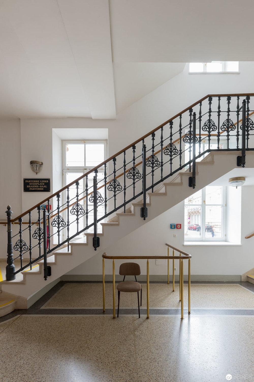 Eingangsbereich des Wiener Musikvereins