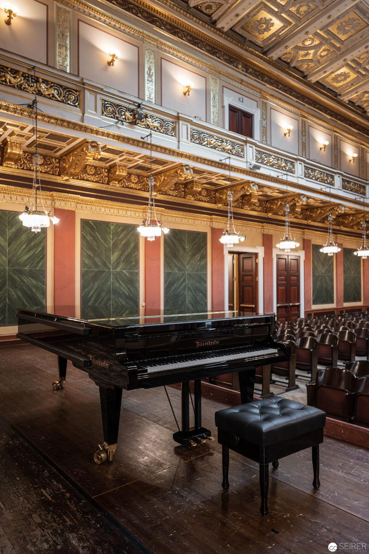 Brahms Saal im Wiener Musikverein