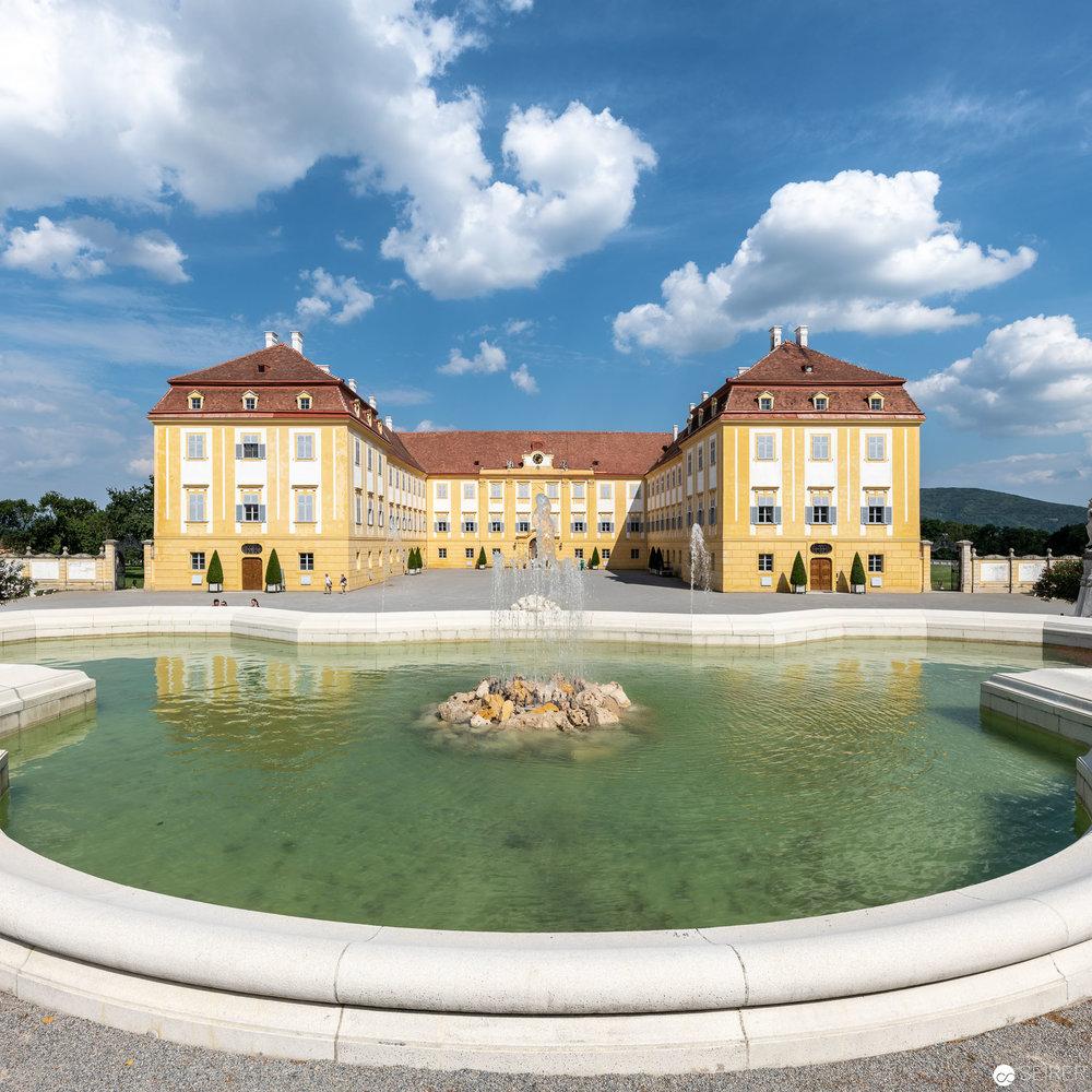 Ansicht Hauptgebäude Schloss Hof