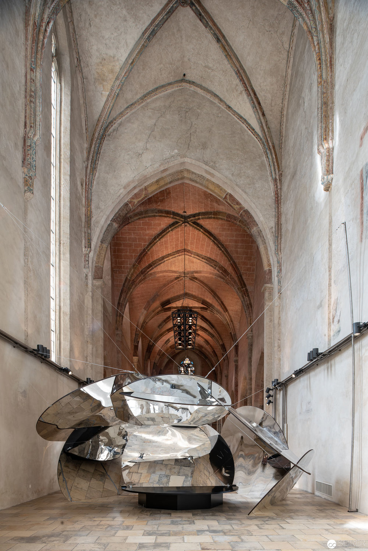 Eva Schlegel, Cloudpsace, Dominikanerkirche Krems, 2018