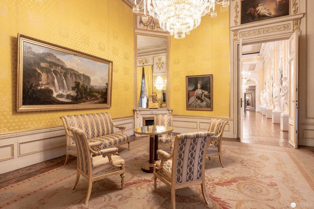 Rokoko Zimmer in den Prunkräumen der Albertina