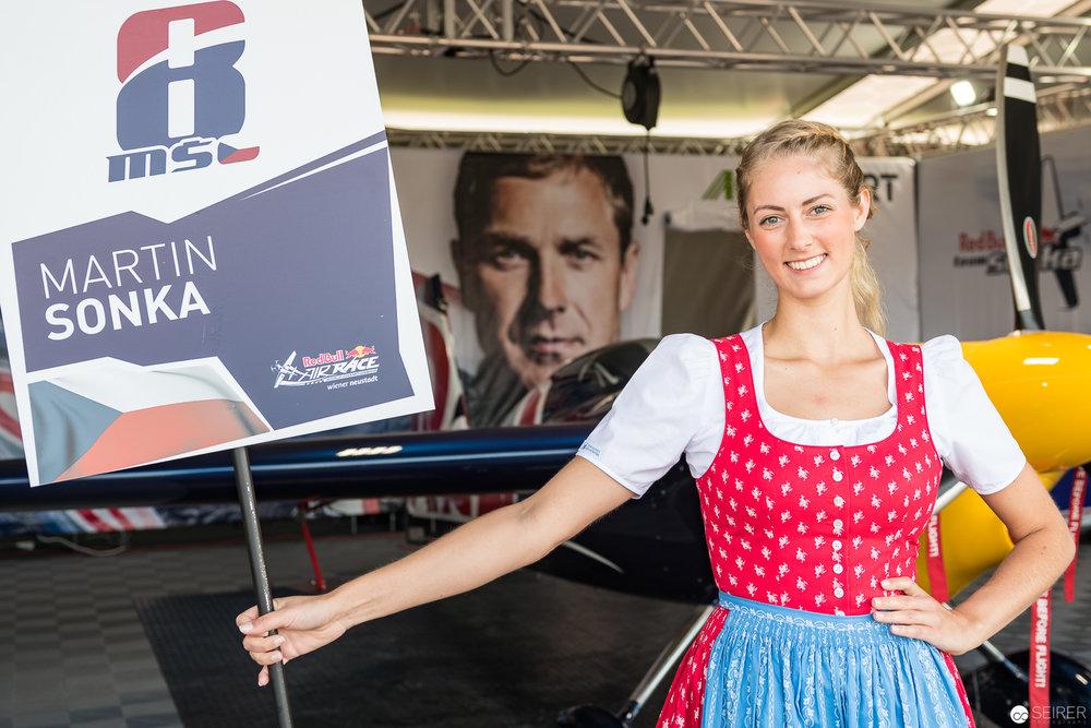 Martin Sonka, der spätere Gewinner der Masterclass in Wiener Neustadt, Red Bull Air Race