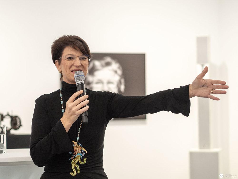 Spartenobfrau Maria Smodics Neuman