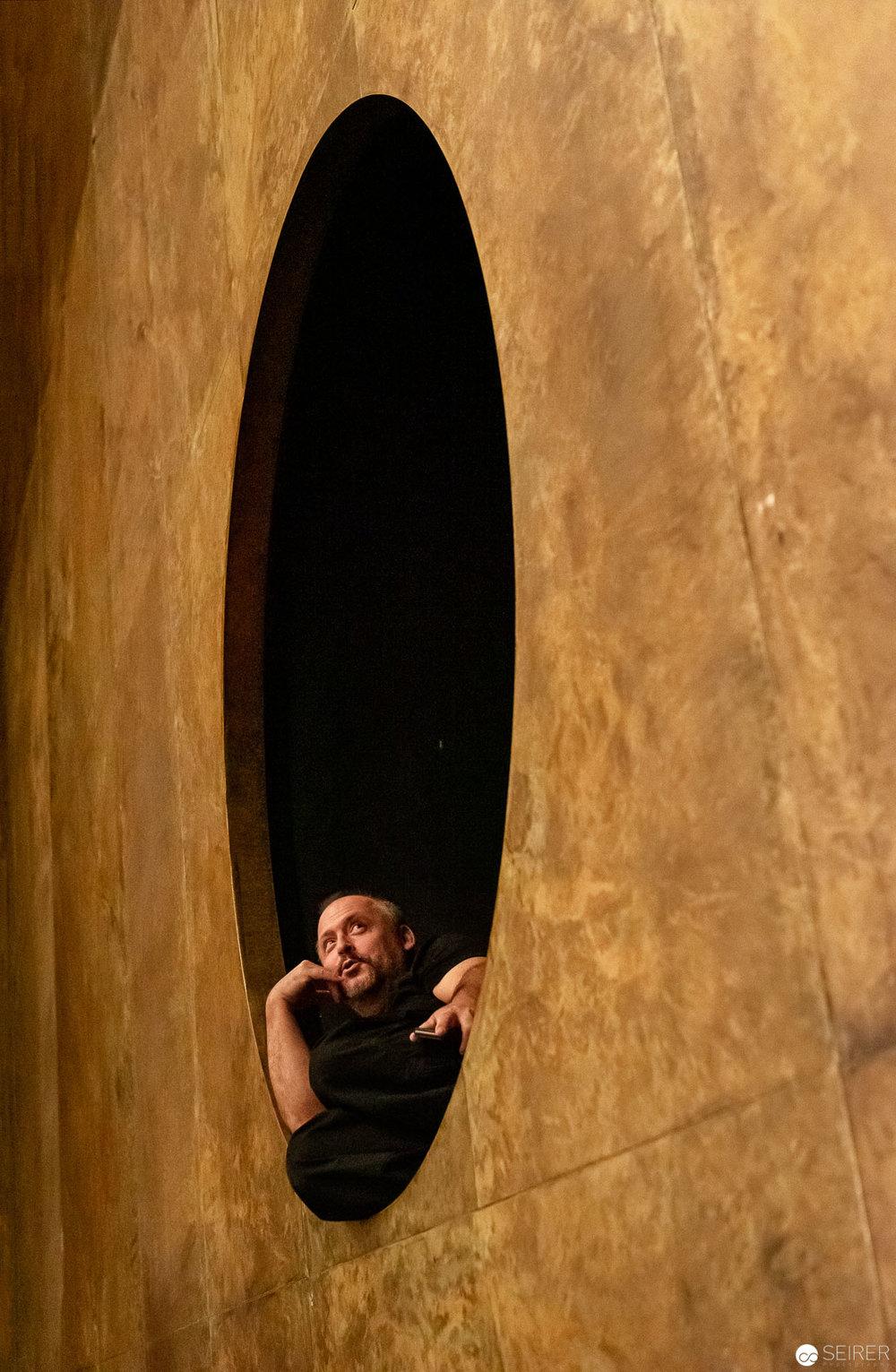 """Geniales Bühnenbild bei """"jedermann (stirbt)"""" im Burgtheater"""