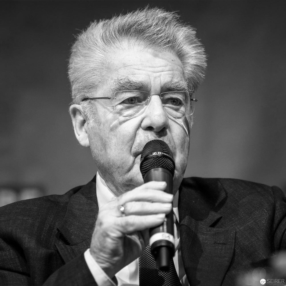 Bundespräsident a.D. Heinz Fischer