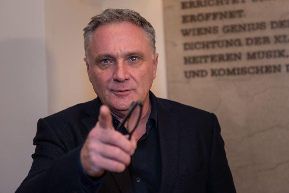 Bernhard Schir - Nestroy Verleihung 2018