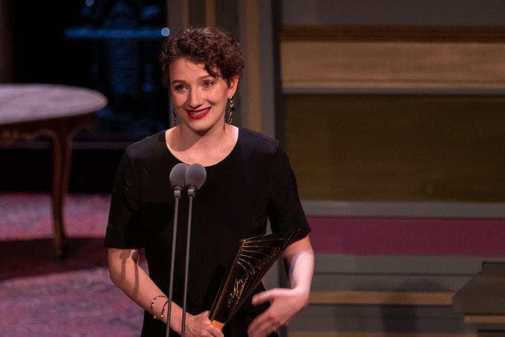 Lara Sienczak - Nestroy Verleihung 2018