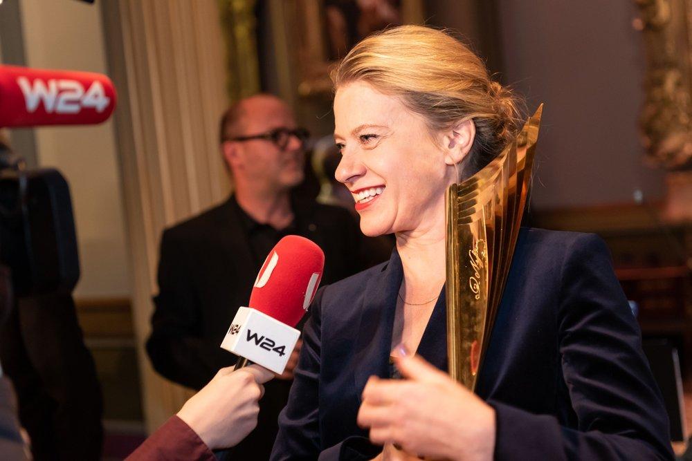 Caroline Peters - Nestroy Verleihung 2018
