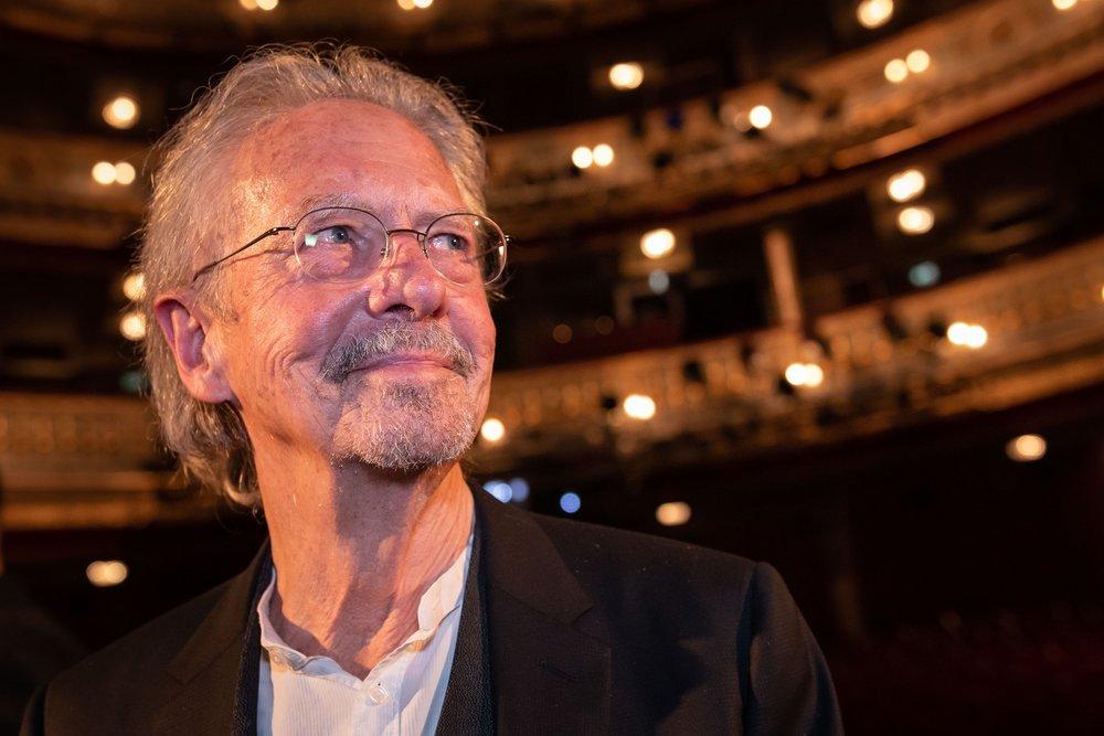 Peter Handke - Nestroy Verleihung 2018