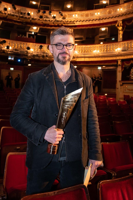 Dušan David Pařízek - Nestroy Verleihung 2018